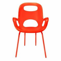 Umbra Oh 320150-460 Dining Room Chair Orange [7 to 10 Days FREE Delivery]