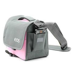 pangshi® Camera Bag Case for Canon Rebel T5i T4i T3i T2i EOS 700D 650D 600D 550D DSLR Pink