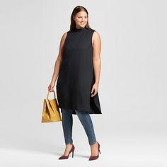 Women's Plus Size Mock Neck Tunic - Who What Wear ™ : Target