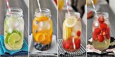 Nápad pre tropické letné dni: Domáce vitamínové vody (recepty priložené)
