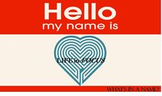 What is in a name or a logo? Find out about the Life In Focus journey in our blog www.LifeInFocusWellness.com/blog