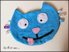 Du fil et mon...Doudou chat couture facile