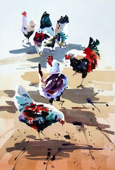 Original Watercolours for sale by Jake Winkle