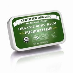 Dr Bronners Organic Body Balm contains organic jojoba, avocado and hemp oils to soothe dry skin anywhere. Excellent for protecting and brightening new and old tattoos Patchouli Oil, Jojoba Oil, Organic Essential Oils, Perfume, Organic Oil, Hemp Oil, Body Care, Peppermint, Bath And Body