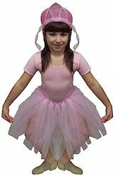 Ballerina Costume. Make an adorable tutu and matching headpiece for just a few dollars in craft supplies. From MakingFriends.com