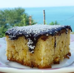 A delicious dessert recipe of Georgian dessert, with lots of chocolates . Tolle Desserts, Köstliche Desserts, Great Desserts, Dessert Recipes, Delicious Cake Recipes, Easy Cake Recipes, Yummy Cakes, Georgian Desserts, Turkish Sweets