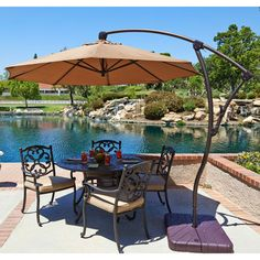 Build Your Own Cantilever Umbrella. Pool Patio FurniturePool ...
