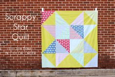 In Color Order: Scrappy Star Quilt Tutorial