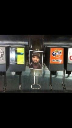 Ice Cube!! Haha