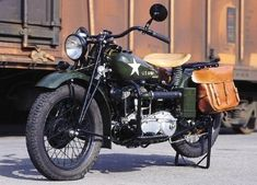 1942 WWII Indian Model 741