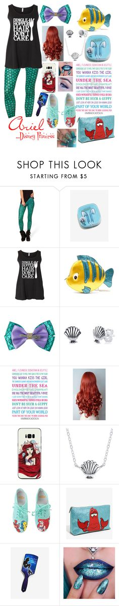 """""""The Little Mermaid"""" by tarajesse ❤ liked on Polyvore featuring Danielle Nicole, Disney and Hot Topic"""