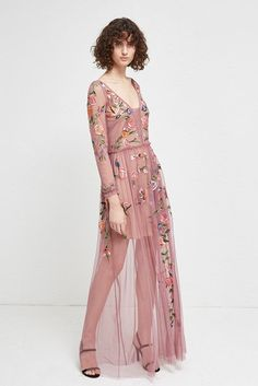 af2c61f941 Katalina Sheer Maxi Dress | Dresses | French Connection Usa Mini Slip Dress,  Chiffon Maxi