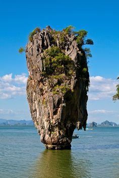 Phang Nga Bay. Thailand. Ao Phang Nga National Park