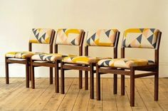 Forest London & Tamasyn Gambell's Aztec design. Chairs are magnificent.