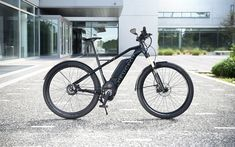 Download wallpapers Peugeot eU01, electric bicycle, 2018, electric transport, modern bicycles, Peugeot