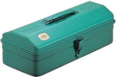 TRUSCO Mountain type tool box Green × × fom Japan for sale online Tool Box Diy, Tool Box Storage, Garage Storage Racks, Container Organization, Storage Containers, Stainless Steel Manufacturing, Steel Tool Box, Japanese Tools
