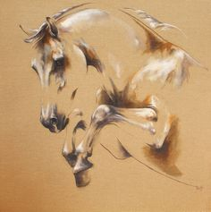 "Laetitia Plinguet ~ ""Jump"" ~ Oil on Canvas Painted Horses, Horse Drawings, Animal Drawings, Horse Canvas Painting, Colored Pencil Artwork, Horse Artwork, Equine Art, Animal Paintings, Beautiful Horses"
