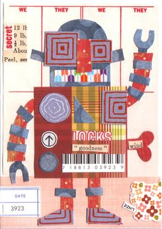 Robot Collage....boys would like this!