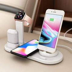 4 In 1 Wireless Charging Station - 50 % OFF TODAY