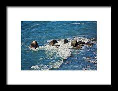 pacific ocean, rocks, cliff, water, nature, landscape, michiale schneider photography, interior design, framed art, wall art