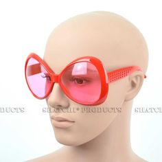 Novelty big framed pink glasses. #Novelty #Glasses #PartyIdeas #Pink #PartyAccessories #DressUp #FancyDress #Costume #Party #PartySupplies #Partyngifts Novelty Sunglasses, Cool Glasses, Fancy Costumes, Party Accessories, Some Fun, Fancy Dress, Big, Rouge, Colors