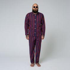 1395 sek - Nufferton Pyjamas - Uno Stripe Blue & Red