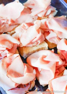 Nothing is better than these ham and cheese sliders!!! Nothing!!! They are sweet, sticky, warm and gooey. Make them for lunch or make them for a gathering. Either way, be sure you bake plenty to share because they will go fast!  Lightening fast!  Food Advertising by I know there is a similar concoction out there … Ham Cheese Sliders, Ham And Cheese, New Recipes, Snack Recipes, Snacks, Baked Sandwiches, Hawaiian Sweet Rolls, Food Advertising, Stick Of Butter