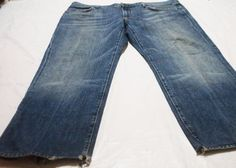 7 For All Mankind Men's Austyn Blue Relaxed Bootcut Jeans Brookside Size 38 #7ForAllMankind #BootCut