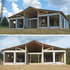 Container House - This is one of the best shipping container home designs I have seen. - Who Else Wants Simple Step-By-Step Plans To Design And Build A Container Home From Scratch? Shipping Container Buildings, Shipping Container Home Designs, Shipping Container House Plans, Shipping Containers, Container Home Plans, Shipping Crate Homes, Prefab Shipping Container Homes, Building A Container Home, Storage Container Homes
