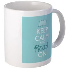 CafePress - Keep Calm And Read On Mugs - Unique Coffee Mug, 11oz Coffee Cup -- Unbelievable product right here! : Coffee Mugs