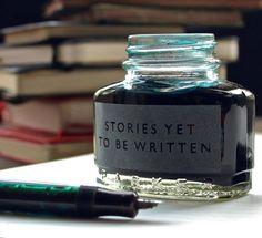 Histoires encore à écrire.