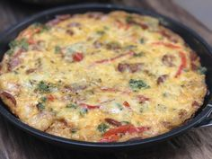 Spaanse tortilla met chorizo - Powered by @ultimaterecipe