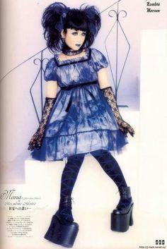 Mana #japanese -  #mana,  #lolita -  moi-meme-moitie
