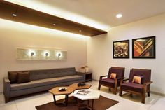 Design by archis-patel-tanvi-rajpurohit Living Room Designs, Living Room Decor, False Ceiling Living Room, Indian Living Rooms, Inviting Home, Indian Homes, False Ceiling Design, House Paint Exterior, Bed Design