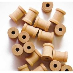 Free Shipping. Buy 100 Unfinished Wood Spools 3/8 X 5/16 Inches, Made in the USA, by My Craft Supplies at Walmart.com - $9.95