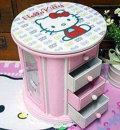 VIVISKY Hello Kitty Cosmetic Storage Jewelry Musical Box Display Organizer Storage Case with Mirror (Pink) Elecbank http://www.amazon.com/dp/B00NMB5IJM/ref=cm_sw_r_pi_dp_P9CJvb17C48SB