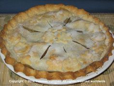 Apple Pie for Thanksgiving - gluten-free. It's easy with Yummee Yummee's Dreamees mix.