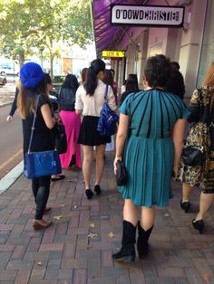 Times Square Claremont Bloggers Morning Tea