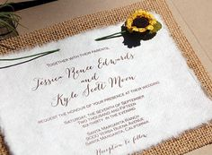 Diy rustic burlap and lavender wedding by morningsidepaper on etsy do it yourself burlap sunflower rustic wedding by morningsidepaper solutioingenieria Image collections