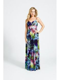 Recreate Blake Lively's floral Oscar de la Renta dress with these other luscious floral-printed gowns. Floral Print Gowns, Printed Gowns, Floral Prints, Chiffon Evening Dresses, Chiffon Dress, Prom Dresses, Summer Dresses, Fringe Dress, Tie Dye Skirt