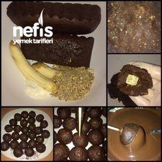Enfes Truffle Cakepops(lokumlu,muzlu,çikolatalı