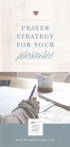 Create a Prayer Strategy for your PRESSURES! We're working through the book Fervent by Priscilla Shirer and would love to have you join us over on the blog! Learn how to prayer specific prayers and become a prayer warrior! www.liveoakboutique.com #fervent #prayerwarrior #warroom #prayerstrategy #familyprayer #warbinder #faithjournal