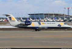 West Air CRJ200 freighter