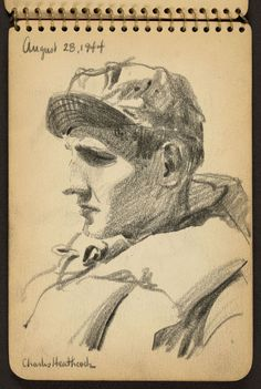 Before he became an acclaimed architect, Victor Lundy was a young GI with a rifle and a pencil.