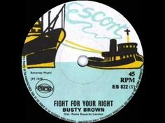 BUSTY BROWN - FIGHT FOR YOUR RIGHT - YouTube