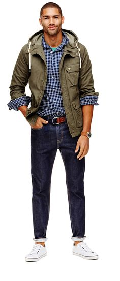 The more layers the better with the latest Old Navy arrivals for him.