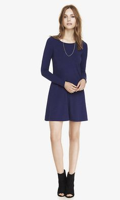 A fun, flirty trapeze dress like this can serve as the foundation for limitless outfits.  $49.90, Express. Courtesy of the Company  - Redbook.com