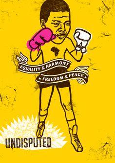 The Mandela Poster Project - Sulet Jansen (South Africa)