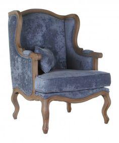 """кресло голубое """"Сезарина"""" - Мягкая мебель в стиле Прованс"""