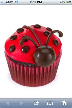 http://www.cupcakecentral.com/cupcake-recipes/ladybug-cupcakes.aspx?id=142